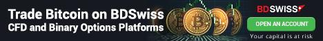 BDSwiss - Erbjudande för Forex trading och CFD handel med Bitcoin